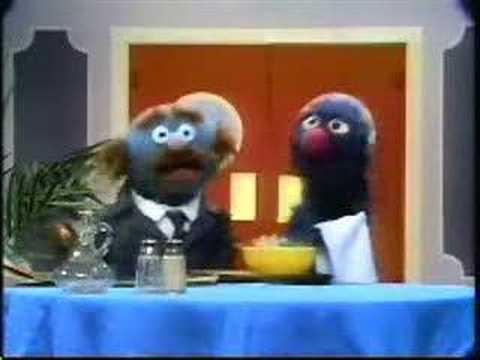 Sesame Street - Waiter Grover - Alphabet Soup