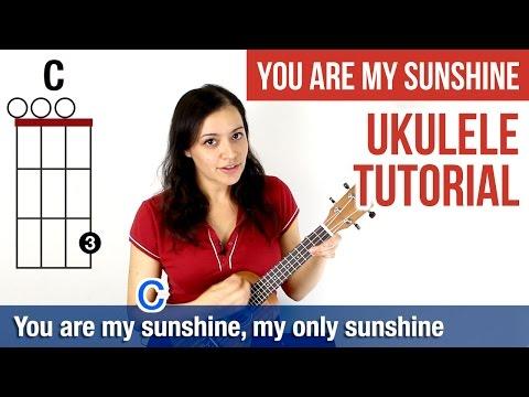 How to Play Ukulele   You Are My Sunshine (Chords)   ukulele tutorial