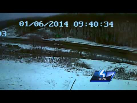 RAW VIDEO: I-376 Parkway West Crash