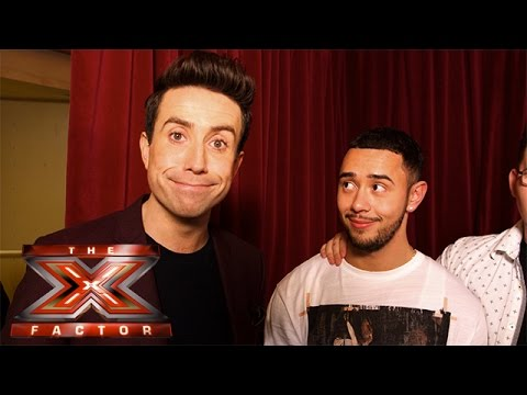 Nick Grimshaw is taking The Boys to… Justin Bieber's house? | The X Factor 2015