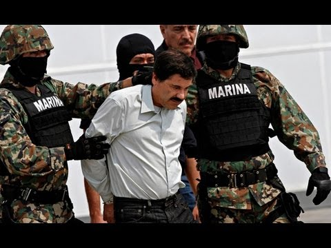 Most Wanted Mexican Drug-Trafficking Drug Kingpin Joaquin 'El Chapo' Guzman Arrested