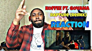 Koffee - Rapture (Remix) ft. Govana REACTION!!!