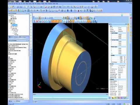 Cad-Cam Software for Lathe