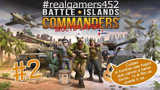 Battle Islands Commanders #2 Viejito Pero Gratis Español...  Directo.