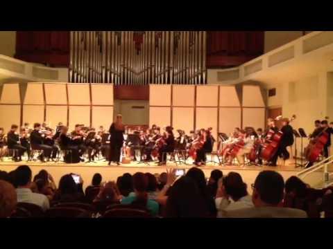 Palmer Trinity School Strings Orchestra plays Clocks by Coldplay