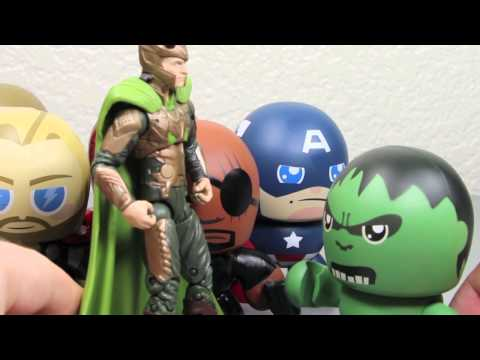 Avengers Movie Mini Muggs Iron Man, Captain America, Thor, Hulk, Hawkeye & Nick Fury Review