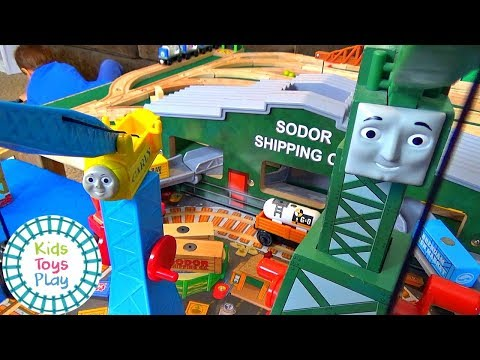 Thomas and Friends Season 21 | New Crane on the Dock | Thomas and Friends Wooden Railway | Thomas |