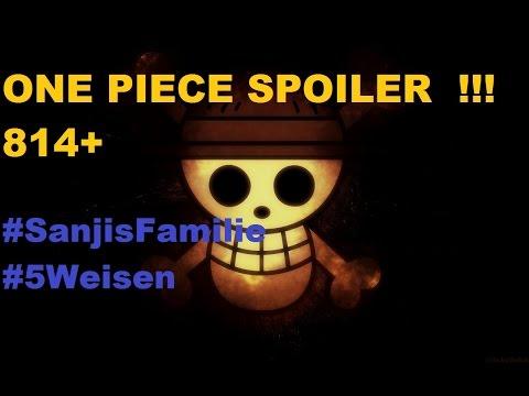 One Piece Chapter 814 Mega Spoiler !!! #NEWS Brook kennt... Theorien Theorie