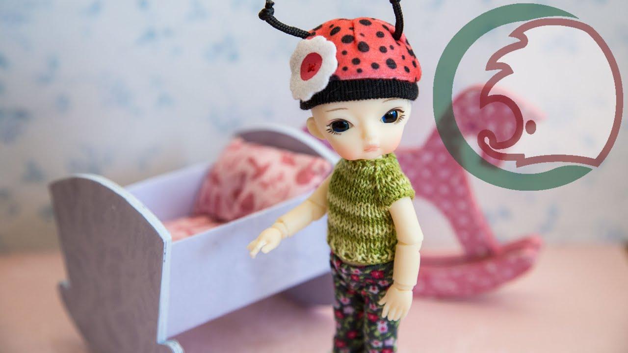 Как сделать вещи для кукол своими руками ютуб