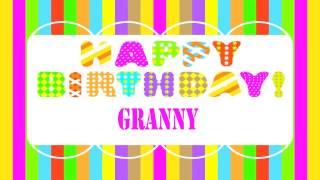 Granny   Wishes & Mensajes - Happy Birthday