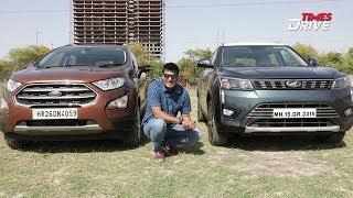 Ford EcoSport vs Mahindra XUV300 – Comparison | The Kranti Sambhav Review