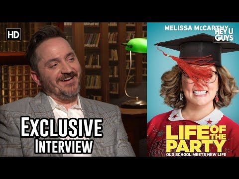 Writer / Director Ben Falcone - Life Of The Party Exclusive Interview