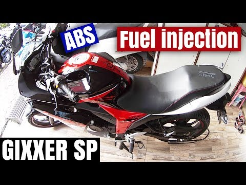 NEW GIXXER SF SPECIAL EDITION 2017 FUEL INJECTED ABS!