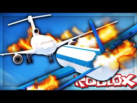 Roblox Adventures - SURVIVE A MID-AIR PLANE CRASH! (Plane Wars)