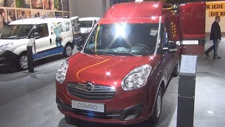 Opel Combo 1.6 CDTI ecoFlex Panel Van L2H2 (2014) Exterior and Interior in 3D 4K UHD