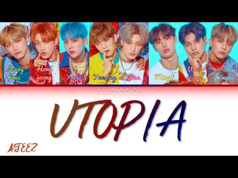 Download ATEEZ 에이티즈 - 'UTOPIA' s Color Coded_Han_Rom_Eng Mp4 baru