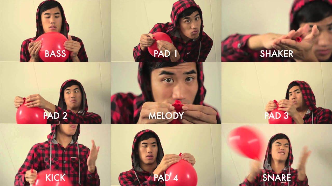 99 Luft Balloons avec des ballons rouges