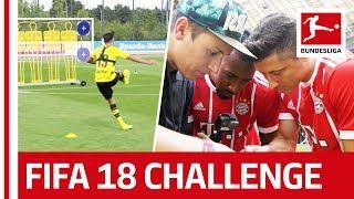 Best Of - EA Sports FIFA 18 Bundesliga Free Kick Challenge