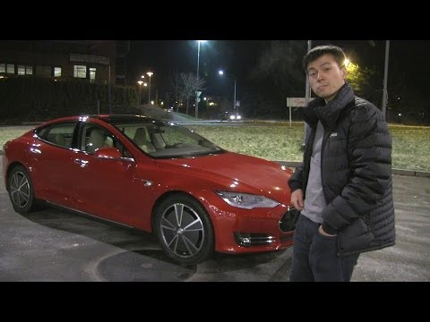 Bjørn's Tesla Model S #1: Oslo - Trondheim Norwegian winter driving