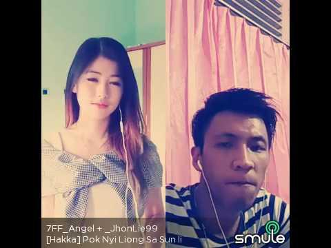 Pok Nyi Liong Sa Sun Li_ Smule Hakka # Angel + Jhon Lie - Duet Song