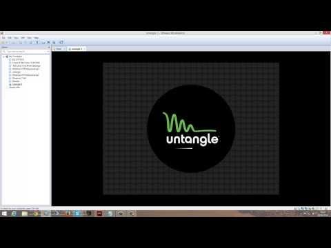 Untangle + openvpn for labs