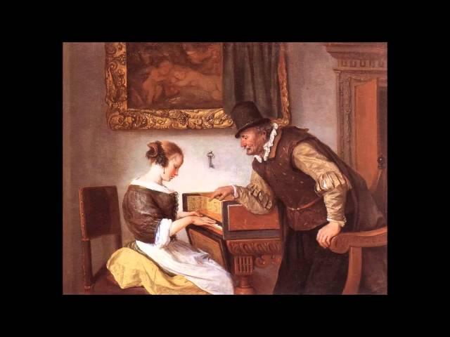 Giovanni Picchi - Toccata (Harpsichord Music: Gustav Leonhardt)