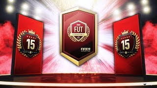 15TH IN THE WORLD FUT CHAMPS REWARDS! - FIFA 19 Ultimate Team