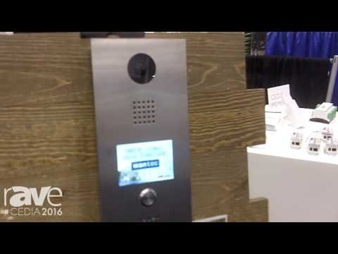 CEDIA 2016: Wantec Shows Off IP Video Door Intercoms