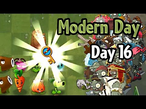 Plants vs Zombies 2 - Modern Day - Day 16: Ultimate Battle