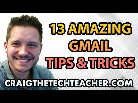 13 Amazing Gmail Tips
