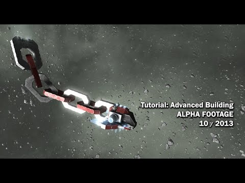 Space engineers alpha tutorial advanced building 10 for Space tutorial