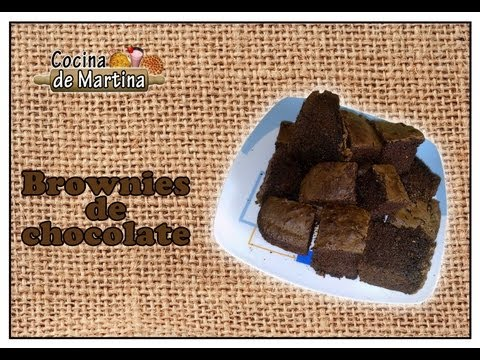Brownies de chocolate | Chocolate Brownies | Recetas de Brownies