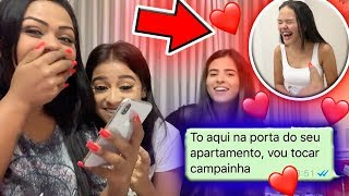 TROLEI MINHA PRIMA FINGINDO SER O CRUSH DELA E ELA ACREDITOU !!!