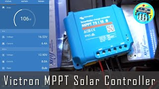 Victron MPPT ☀️Solar Controller ☀️with Bluetooth 📲 Installation & Review