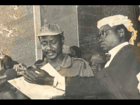 Yoweri Museveni Swears in January 29, 1986