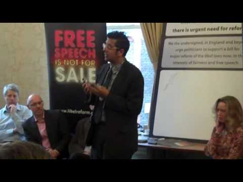 Simon Singh makes the case for  libel reform