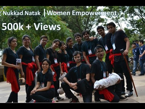 Nukkad Natak on Women Empowerment by GIT Theatre Team..!