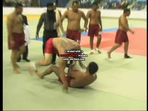 lakha gazipuria stop by keepa surkhpuryia world kabaddi cup 2008