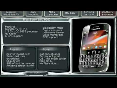 Top 5 Best smartphones in India 2011 - 2012