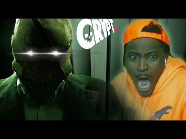 MOVIE NIGHT #4 | CRYPT TV Scary Short Horror FIlm Reaction | LooK-SeE ep 4 REACTION