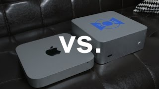 $682 Hackintosh Mac Mini vs. $1,300 Apple Mac Mini