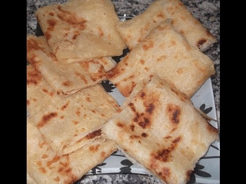 المسمن المغربي او الرغايف, como hacer msemmenm rghayef, crepes marroquies,pan marroqui