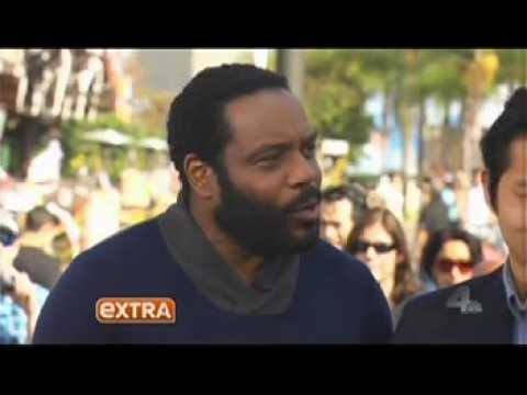 CHAD COLEMAN// EXTRA TV 10/9/13