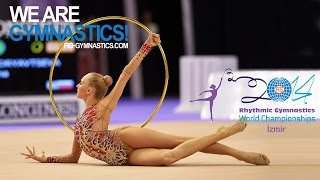KUDRYAVTSEVA Yana (RUS) - 2014 Rhythmic Worlds, Izmir (TUR) - Qualifications Hoop