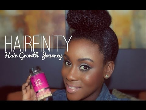 Hairfinity   Hair Growth Journey Begins & Length Check