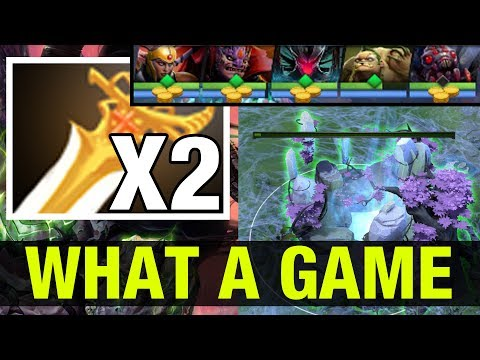 WHAT A GAME !! - MIRACLE TERRORBLADE WITH 2 DIVINES AND INSANE BASE RACE - Dota 2