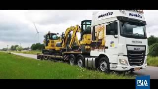 Promo BIA Roadshow Komatsu MR5 machinelijn