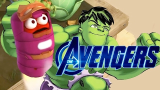 LARVA ❤ LA AVENGER  2017 Full Movie Cartoon  Cartoons For Children  LARVA Official