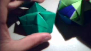 Origami Stellated Octahedron