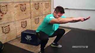Free CrossFit lesson!  Squat Lesson with challenging workout.